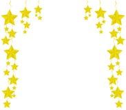 όμορφο διάνυσμα αστεριών απεικόνισης Χριστουγέννων Στοκ εικόνες με δικαίωμα ελεύθερης χρήσης