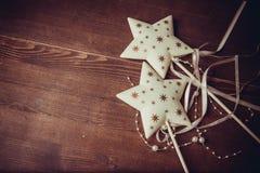 όμορφο διάνυσμα αστεριών απεικόνισης Χριστουγέννων Στοκ Εικόνα