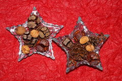 όμορφο διάνυσμα αστεριών απεικόνισης Χριστουγέννων Στοκ Φωτογραφίες