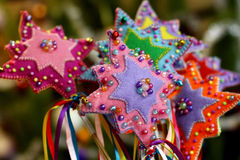 όμορφο διάνυσμα αστεριών απεικόνισης Χριστουγέννων Στοκ φωτογραφία με δικαίωμα ελεύθερης χρήσης