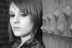όμορφο κάτω να φανεί γυναίκ& Στοκ φωτογραφία με δικαίωμα ελεύθερης χρήσης
