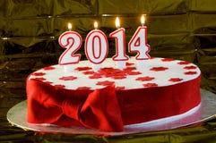 Όμορφο κέικ για το νέο έτος Στοκ φωτογραφία με δικαίωμα ελεύθερης χρήσης