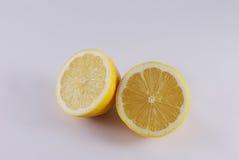 Όμορφο κίτρινο λεμόνι φρούτων Στοκ Εικόνες