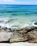 όμορφο καθαρό ύδωρ Στοκ Εικόνες
