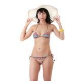 όμορφο καλοκαίρι καπέλων Στοκ εικόνα με δικαίωμα ελεύθερης χρήσης