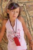 όμορφο καλοκαίρι κοριτσιών στοκ εικόνες με δικαίωμα ελεύθερης χρήσης