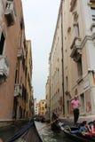 Όμορφο καλοκαίρι στη Βενετία Ιταλία με τη γόνδολα Στοκ Φωτογραφία