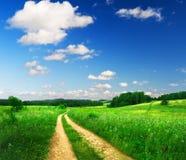 όμορφο καλοκαίρι τοπίων στοκ εικόνες