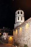 Όμορφο καμπαναριό στην παλαιά πόλη Plovdiv - σκηνή νύχτας Στοκ φωτογραφίες με δικαίωμα ελεύθερης χρήσης
