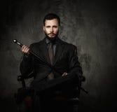 Όμορφο καλά-ντυμένο άτομο Στοκ φωτογραφίες με δικαίωμα ελεύθερης χρήσης