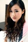 όμορφο κινεζικό κορίτσι Στοκ φωτογραφίες με δικαίωμα ελεύθερης χρήσης