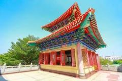 Όμορφο κινεζικό κτήριο ναών στοκ εικόνες