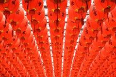όμορφο κινεζικό κόκκινο φ&a Στοκ εικόνες με δικαίωμα ελεύθερης χρήσης