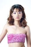 όμορφο κινεζικό μοντέλο Στοκ εικόνες με δικαίωμα ελεύθερης χρήσης