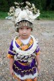Όμορφο κινεζικό παραδοσιακό παιδί Στοκ Εικόνες