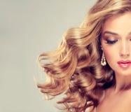 όμορφο κομψό κορίτσι hairstyle στοκ φωτογραφία