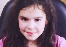όμορφο κορίτσι λίγα στοκ εικόνα με δικαίωμα ελεύθερης χρήσης