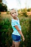 όμορφο κορίτσι λίγο πορτρέ Στοκ Φωτογραφίες