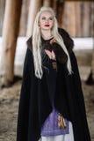 Όμορφο κορίτσι Βίκινγκ Στοκ Φωτογραφίες