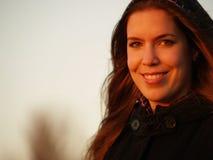 όμορφο κορίτσι ευτυχές Στοκ φωτογραφίες με δικαίωμα ελεύθερης χρήσης
