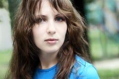 όμορφο κορίτσι εφηβικό Στοκ εικόνα με δικαίωμα ελεύθερης χρήσης