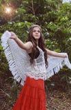 όμορφο κορίτσι εφηβικό Στοκ εικόνες με δικαίωμα ελεύθερης χρήσης