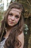 όμορφο κορίτσι εφηβικό Στοκ Εικόνα