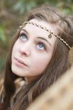 όμορφο κορίτσι εφηβικό Στοκ Εικόνες