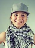 όμορφο κορίτσι ΚΑΠ στοκ φωτογραφία με δικαίωμα ελεύθερης χρήσης