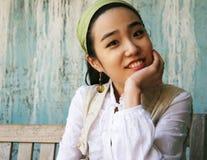 όμορφο κορίτσι Κορεάτης στοκ φωτογραφίες με δικαίωμα ελεύθερης χρήσης