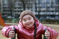 όμορφο κορίτσι λίγο πορτρέ στοκ φωτογραφίες με δικαίωμα ελεύθερης χρήσης