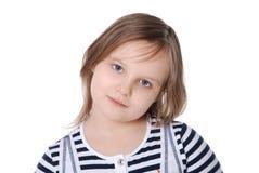 όμορφο κορίτσι λίγο πορτρέ Στοκ Εικόνες
