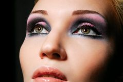 όμορφο κορίτσι ματιών καλό Στοκ Εικόνες