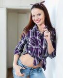 Όμορφο κορίτσι με το lollipop Στοκ Εικόνες