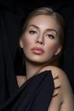 Όμορφο κορίτσι με το makeup στοκ εικόνες με δικαίωμα ελεύθερης χρήσης