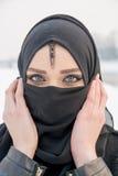 όμορφο κορίτσι μπλε ματιών Στοκ εικόνες με δικαίωμα ελεύθερης χρήσης