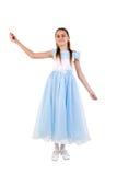 όμορφο κορίτσι νεράιδων κ&om Στοκ φωτογραφία με δικαίωμα ελεύθερης χρήσης