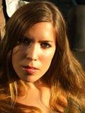 όμορφο κορίτσι προκλητι&kappa Στοκ φωτογραφία με δικαίωμα ελεύθερης χρήσης