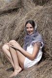 όμορφο κορίτσι ρωσικά Στοκ εικόνα με δικαίωμα ελεύθερης χρήσης