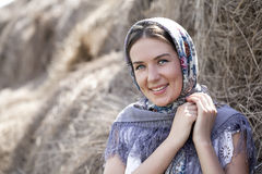 όμορφο κορίτσι ρωσικά Στοκ εικόνες με δικαίωμα ελεύθερης χρήσης
