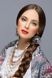 όμορφο κορίτσι ρωσικά Στοκ φωτογραφία με δικαίωμα ελεύθερης χρήσης