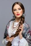 όμορφο κορίτσι ρωσικά Στοκ Φωτογραφίες