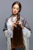 όμορφο κορίτσι ρωσικά Στοκ Εικόνα