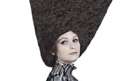 Όμορφο κορίτσι στο καπέλο Στοκ φωτογραφίες με δικαίωμα ελεύθερης χρήσης