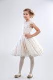 Όμορφο κορίτσι στο φόρεμα στοκ φωτογραφία