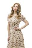 Όμορφο κορίτσι στο φόρεμα Στοκ φωτογραφία με δικαίωμα ελεύθερης χρήσης
