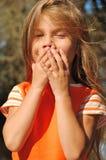 όμορφο κορίτσι υπαίθρια στοκ φωτογραφία με δικαίωμα ελεύθερης χρήσης