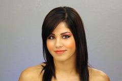 όμορφο κορίτσι 2 headshot εφηβικό Στοκ Φωτογραφία