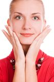 όμορφο κορίτσι Στοκ φωτογραφίες με δικαίωμα ελεύθερης χρήσης