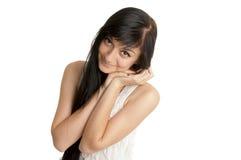 όμορφο κορίτσι brunette στοκ εικόνες με δικαίωμα ελεύθερης χρήσης